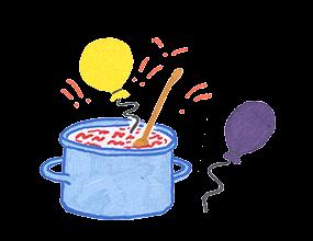Kochen + Feiern